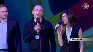 Лучшие игры Открытой Алмазной Лиги КВН в день смеха на телеканале «Алмазный край»