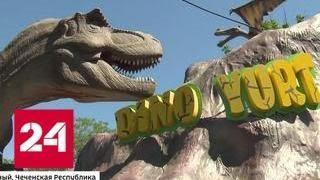 В Чечне откроется парк развлечений с дельфинарием, конным клубом и парком динозавров - Россия 24
