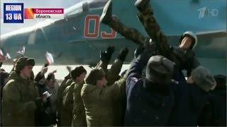 Первая группа российских истребителей-бомбардировщиков Су-34 вернулась из Сирии Мировые Новости
