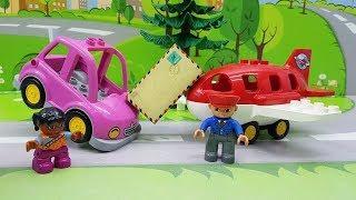 Мультики с игрушками Лего - Посылка дружбы #мультфильмы для самых маленьких Самые интересные #видео!