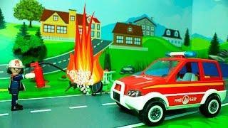 Мультфильмы для детей Пожар на пикнике. Новые мультики 2016 Развивающие мультфильмы для детей