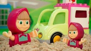 Маша и Медведь и Свинка Пеппа мультфильмы для детей - Маша бизнесмен! Видео для детей Мультфильмы!