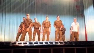 КВН лучшие выступления - Самый сексуальный танец от парней 6 роты