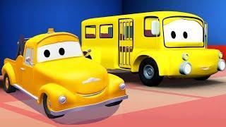 Эвакуатор Том - Автобус Лили - Автомобильный Город