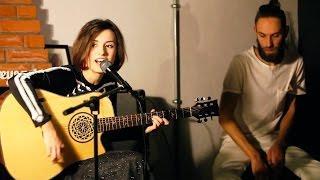 Екатерина Яшникова - Песня про любовь и самоотверженность (live in Jeffrey's coffee, 30.10.16)