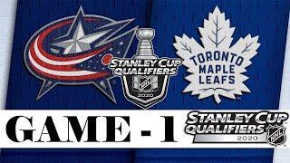 Торонто Мейпл Лифс – Коламбус Блю Джекетс обзор матча плей офф НХЛ 3.08.2020