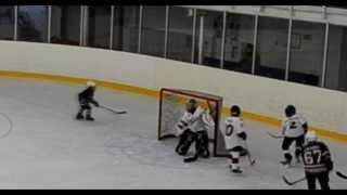 Детский хоккей. Лучшие моменты Goalie Ivan Denisenko HC Sibir 2004.часть 5