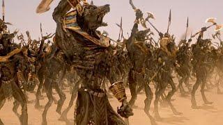 """Битва против войска Царя Скорпионов ч.1 - """"Мумия возвращается"""" отрывок из фильма"""