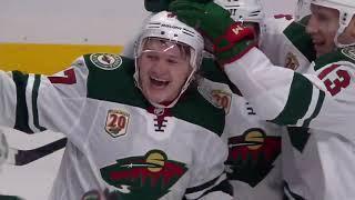 Кирилл Капризов / Kaprizov  Первый гол в НХЛ  1 в сезоне  /15.01.2021/