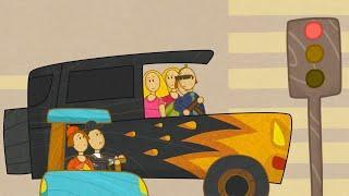 Машинки - Мультфильмы ПДД для детей - Грузовая Смарт Автобус | Новый мультсериал
