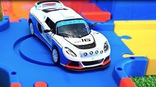 Супер гонки. Гоночные машины и трассы. Мультики про машинки