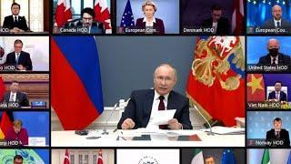 Срочно! Путин обратился к Байдену и другим западным лидерам!