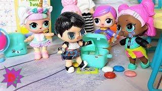 Разбили телефон! Ох уж эти новенькие. Мультики куклы ЛОЛ школа новые серии #лол #lol surprise