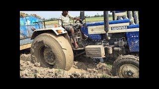 Тракторист от Бога...Экстремальные Трактора Водители от Бога интересное видео