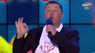 Когда разрешено говорить слово сука и Уебяка с капустой - Кличко VS Парубий    Пародия Квартал 95