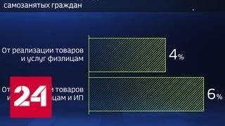Россия в цифрах. Сколько в России самозанятых? - Россия 24