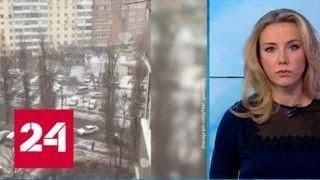 """""""Погода 24"""": снегопад осложнил жизнь водителям - Россия 24"""