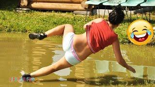 Смешные видео 2020 ● неудачные падения в воду, подборка Приколы над людьми / Best Epic Water Fails