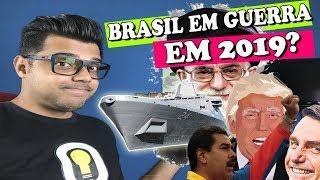 Irã Envia Navio de Guerra à Venezuela - Trump e Bolsonaro na Mira