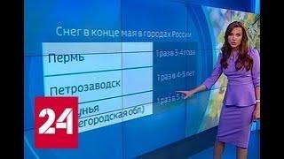"""""""Погода 24"""": лето начинается с заморозков - Россия 24"""