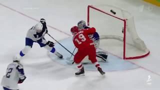 Сборная России — сборная Франции.Лучшие моменты.Чемпионат мира по хоккею 2018