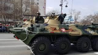 Парад военной техники, г. Тюмень 09 мая 2018