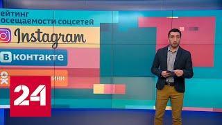 Instagram стала самой популярной соцсетью у москвичей - Россия 24