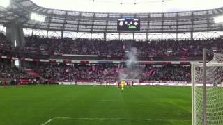 Последние секунды матча Локомотив - Спартак