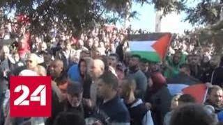 Израильские военные отвечают гранатами на камни палестинцев - Россия 24