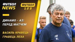 Динамо готується до матчу з АЗ, Шевченко у футболці Мілана   Футбол NEWS від 15.09.2020 (10:00)