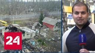 В пасхальное перемирие ВСУ обстреливают кладбища Донбасса - Россия 24