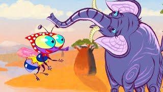 Мультик для малышей - Слон (Новая серия) Развивающие мультики для детей самых маленьких