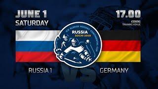 """Россия 1 - Германия. Следж-хоккей. """"Кубок континента"""". Прямая трансляция - 1 июня 17:00 МСК"""