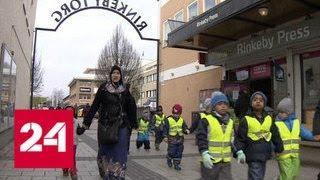 В Дании запретили одежду, скрывающую лицо - Россия 24