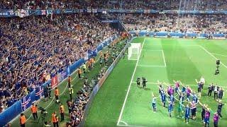 """Англия : Исландия 1:2 Последние секунды и победное """"Ху!"""""""